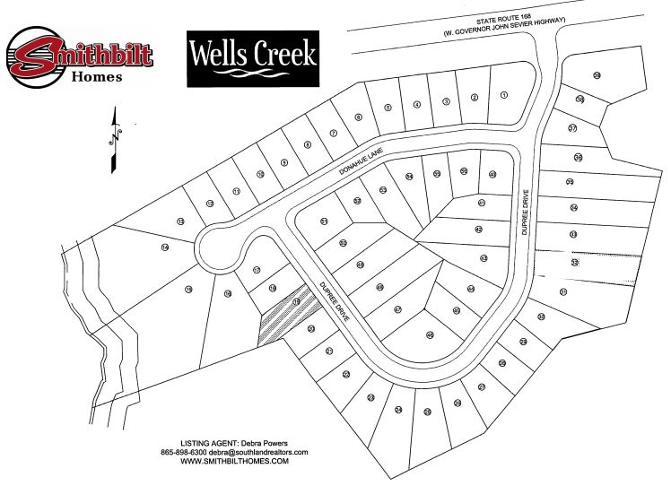 Wells Creek Sales Map