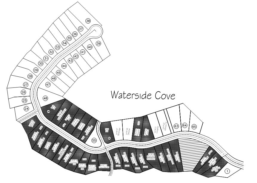 Waterside Cove Map