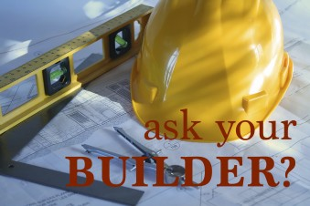 Ask your builder a question about your new home