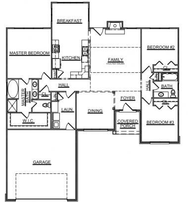 Trinity Floor Plan Smithbilt Homes