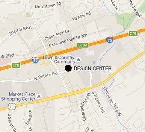 design center map