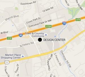design center map