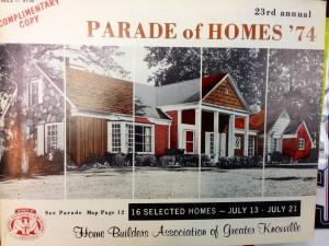 1974 Parade of Homes Magazine